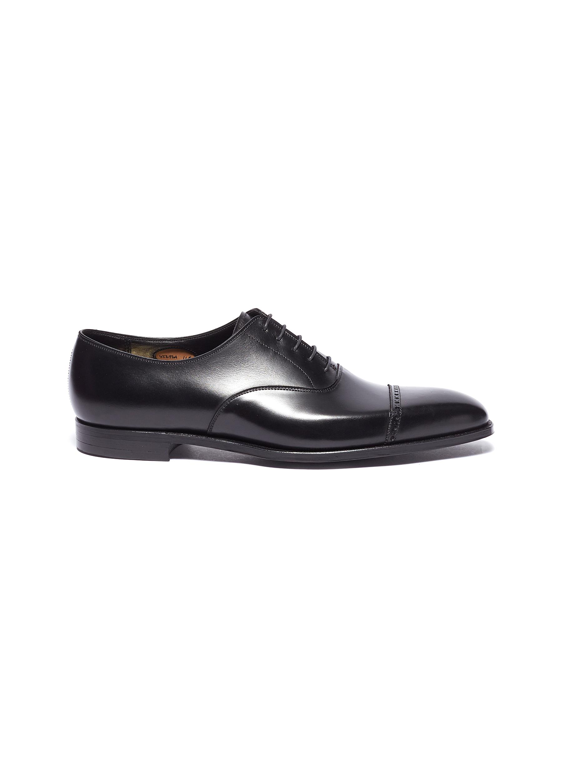'Charles' leather Oxfords