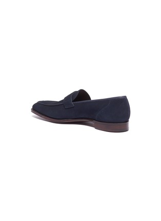 - GEORGE CLEVERLEY - 'George' suede penny loafers