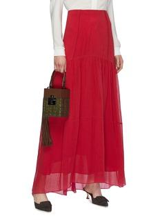Oscar de la Renta 'Alibi' wicker box bag
