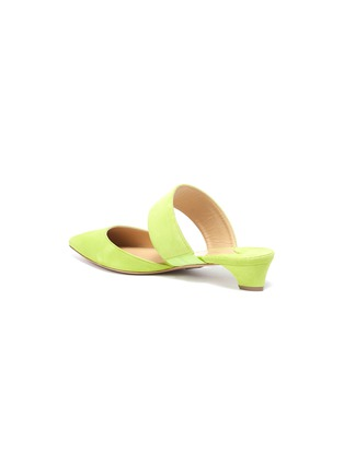 - PAUL ANDREW - 'Right Away' cutout suede mules