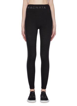 1eb139720b NAGNATA  Laya  geometric outseam knit performance leggings