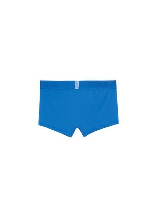 Back View - Click To Enlarge - CALVIN KLEIN UNDERWEAR - 'Evolution' logo waistband microfibre trunks