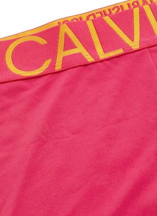 - CALVIN KLEIN UNDERWEAR - 'Statement 1981' logo waistband microfibre trunks