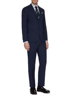 Lardini Wool houndstooth suit