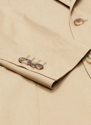 - LARDINI - Cotton twill suit