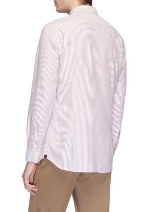 Back View - Click To Enlarge - LARDINI - Stripe shirt