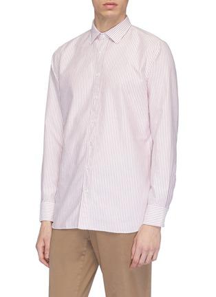 Front View - Click To Enlarge - LARDINI - Stripe shirt