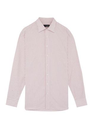 Main View - Click To Enlarge - LARDINI - Stripe shirt