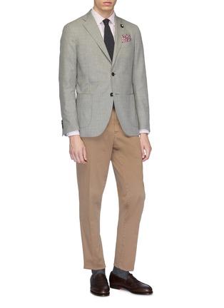 Figure View - Click To Enlarge - LARDINI - Stripe shirt