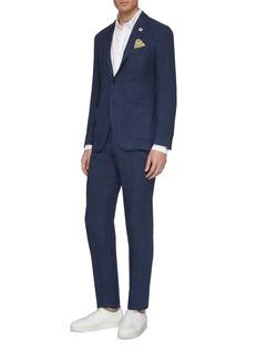 Lardini Garment dyed hemp suit