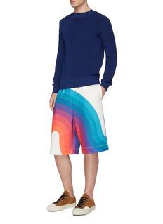 Dries Van Noten x Verner Panton 'Hostala' wave print shorts