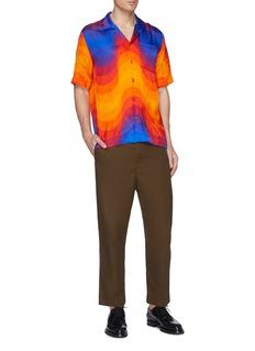Dries Van Noten x Verner Panton 'Carlton' wave print short sleeve shirt