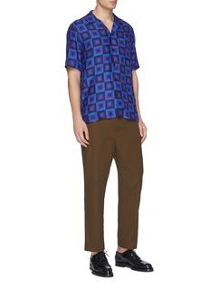 Dries Van Noten x Verner Panton 'Carlton' geometric print short sleeve shirt