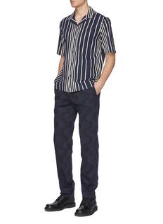 Dries Van Noten 'Carlton' stripe short sleeve shirt