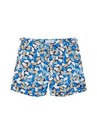 1eba49d3df115 ORLEBAR BROWN 'Bulldog' mosaic graphic print swim shorts