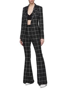 CRUSH Collection Triangle silk-cotton bralette