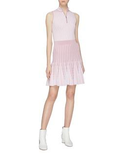 PH5 'Ivy' stripe knit flared skirt