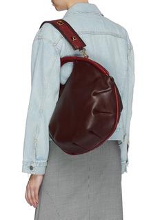 A-Esque 'Petal Pure' colourblock leather bag