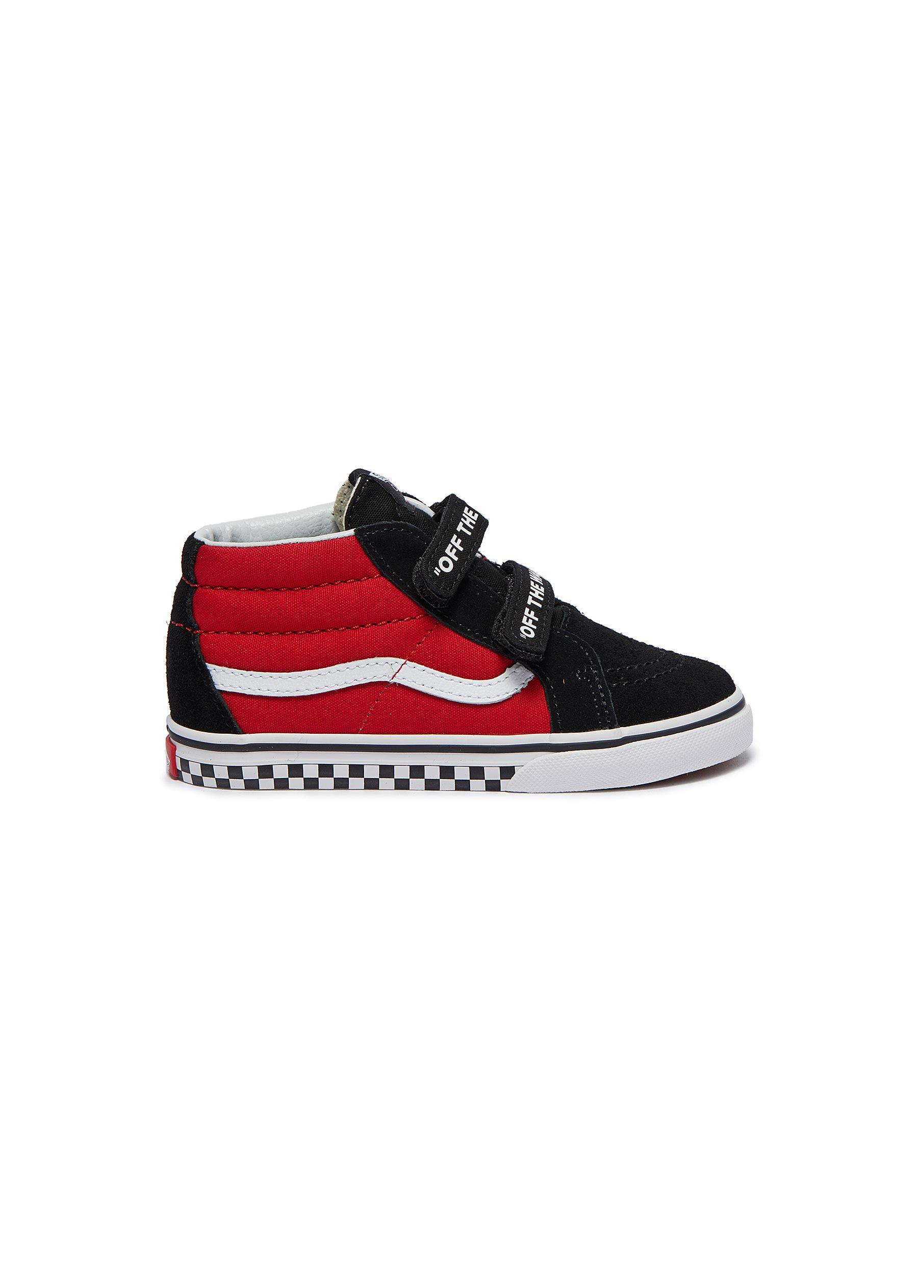 cd486067213439 Vans.  Sk8-Mid Reissue V  patchwork toddler sneakers