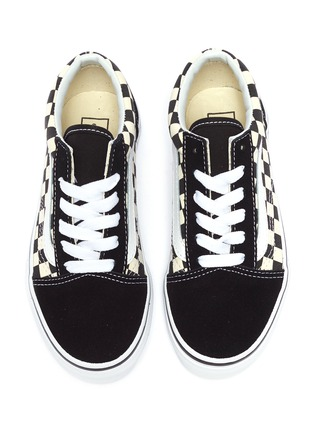 f55666b49ff Figure View - Click To Enlarge - Vans -  Old Skool V  checkerboard canvas