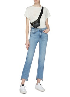 rag & bone/JEAN '10 Inch Stovepipe' staggered cuff jeans