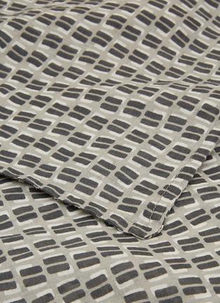 Detail View - Click To Enlarge - SOCIETY LIMONTA - Nap Twin pillowcase set – Fumo