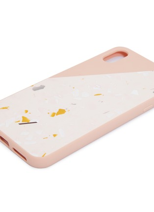 Detail View - Click To Enlarge - Native Union - CLIC Terrazzo iPhone XS Max case – Rose