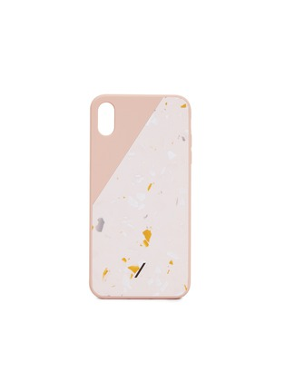 Main View - Click To Enlarge - Native Union - CLIC Terrazzo iPhone XS Max case – Rose