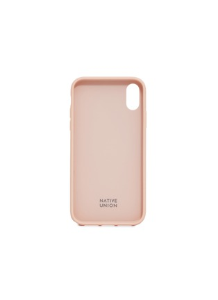 - NATIVE UNION - CLIC Card leather iPhone XR case – Rose
