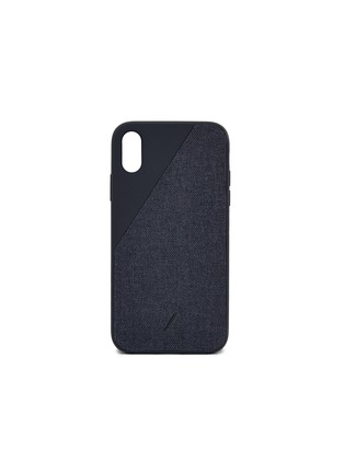 Main View - Click To Enlarge - NATIVE UNION - CLIC Canvas iPhone XR case – Black
