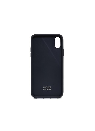 - Native Union - CLIC Canvas iPhone XR case – Black