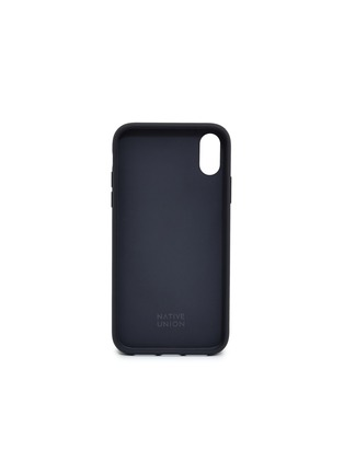 - Native Union - CLIC Card leather iPhone XR case – Black