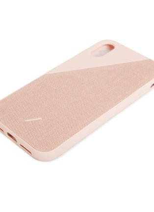 Detail View - Click To Enlarge - NATIVE UNION - CLIC Canvas iPhone XR case –Rose