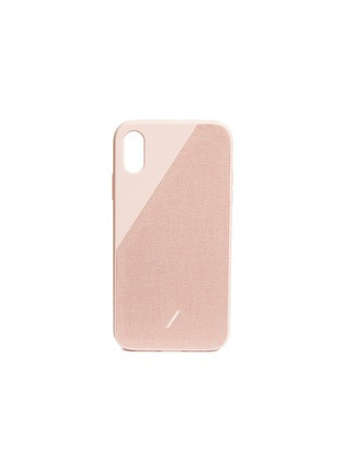 Main View - Click To Enlarge - NATIVE UNION - CLIC Canvas iPhone XR case –Rose