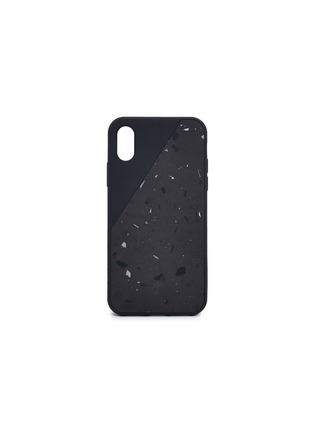 Main View - Click To Enlarge - NATIVE UNION - CLIC Terrazzo iPhone XS case – Black