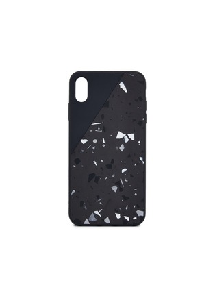 Main View - Click To Enlarge - NATIVE UNION - CLIC Terrazzo iPhone XS Max case – Black