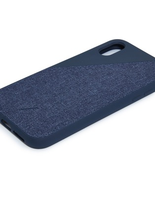 Detail View - Click To Enlarge - Native Union - CLIC Canvas iPhone XR case – Navy