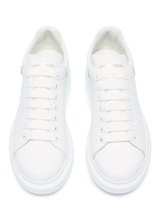 Detail View - Click To Enlarge - ALEXANDER MCQUEEN - 'Oversized Sneaker' in leather