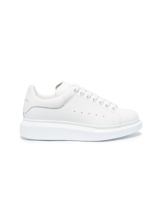 Main View - Click To Enlarge - Alexander McQueen - 'Oversized Sneaker' in leather