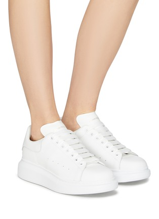Figure View - Click To Enlarge - Alexander McQueen - 'Oversized Sneaker' in leather