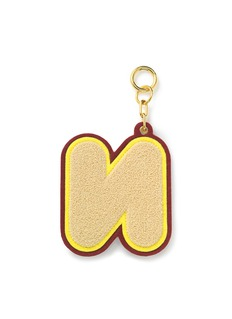 CHAOS Alphabet chenille luggage tag – N