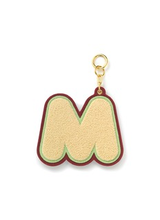 CHAOS Alphabet chenille luggage tag – M