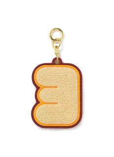 CHAOS Alphabet chenille luggage tag –E