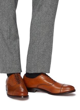 Figure View - Click To Enlarge - ALLEN EDMONDS - 'Park Avenue' leather Oxfords