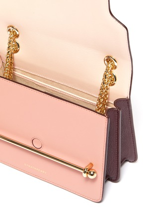 Detail View - Click To Enlarge - Strathberry - 'East/West' mini leather crossbody bag