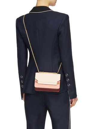 Front View - Click To Enlarge - Strathberry - 'East/West' mini leather crossbody bag