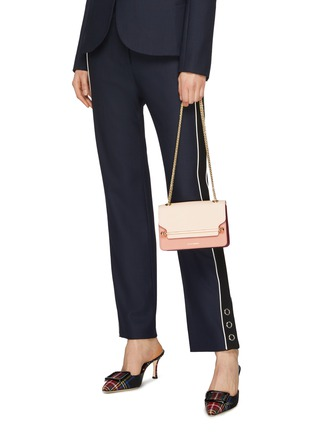 Figure View - Click To Enlarge - Strathberry - 'East/West' mini leather crossbody bag