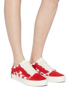 Vans x Purlicue 'Old Skool' checkerboard canvas skate sneakers