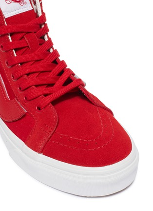 Detail View - Click To Enlarge - VANS - x Purlicue 'Sk8-Hi Reissue' canvas sneakers