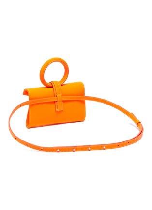 Detail View - Click To Enlarge - COMPLÉT - 'Valery' micro leather envelope belt bag